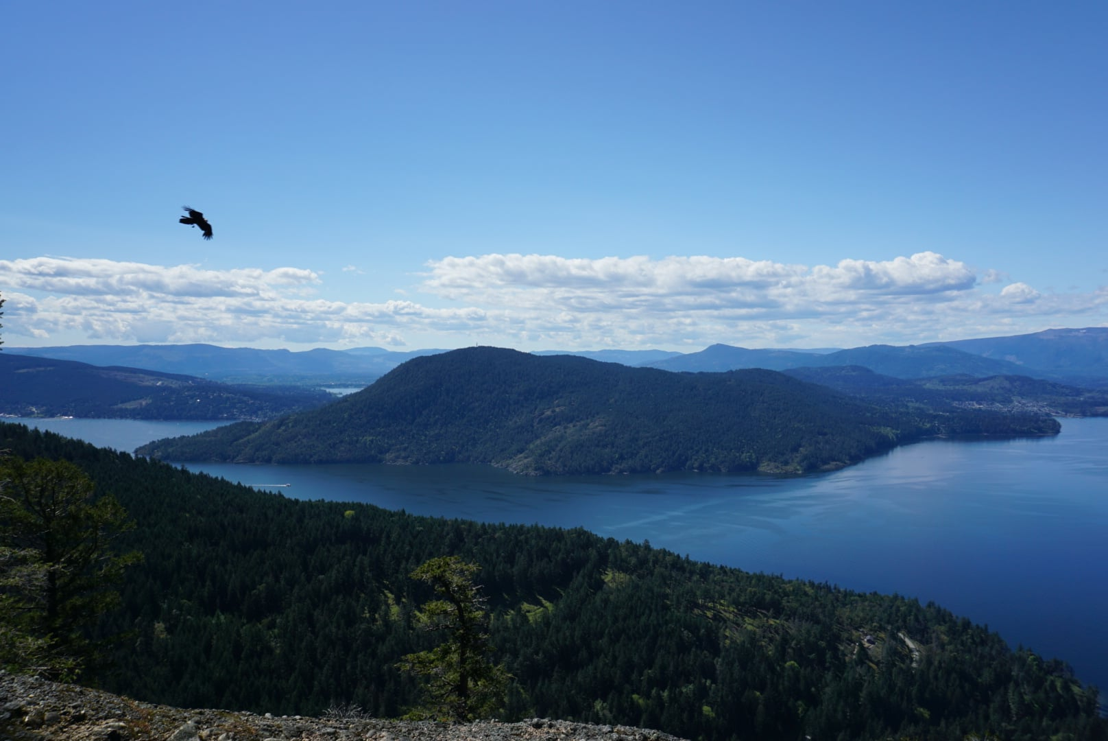 Hiking Salt Spring Island