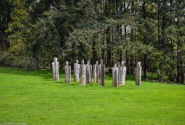 Sculpture By Michael Dennis At Hastings House